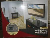 Full-motion wall mount. Never been used. Still in