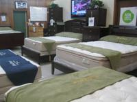 Brand name New Adult Plush Top Mattress set $175. All