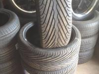 "COMPLETE SET OF 22"" NATIONAL DURUN F-ONE TIRES. ^ ^ ^ ^"