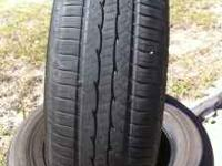 THIS FULL SET OF 235-65-17 KUMHO USED TIRES IS FOR JUST