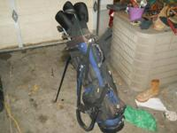 I don't golf! This is a full set of clubs, w putter!