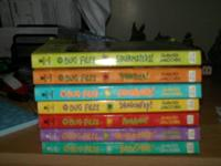 Set of 7 Bug Files books for sale:.  1. Squirmsters. 2.