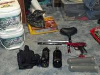 I am selling all of my paintball gear due to the fact