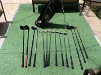 I'm selling a full set of Ram laser x2 Golf Clubs, used