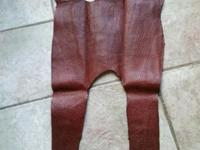 Grade quality, soft tannage full shape cut Genuine