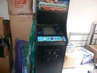 Full size Arcade Game with over 22 games. The entire