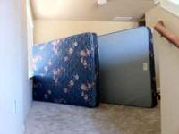 Full size bed mattresses with frame (missing frame
