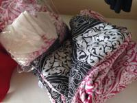 Both sets $25.00 OBO. Includes sheet set with pillow