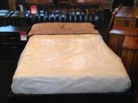 We have a brand new, full size, headboard, foot board