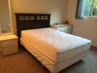 I am selling a full size box spring and bed frame that