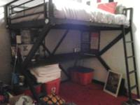 selling full size bunk bed W/ brand new mattress.Its a