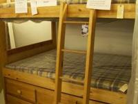 This is a Full Size Bunk Bed from American Wholesale