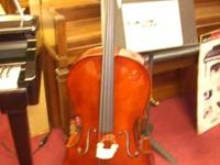 Full size Cello  Ebony pegs  Factory Demo model