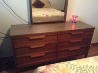 Complete full size bedroom set - Headboard, footboard,