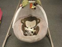 Fisher Price Brown Cow Travel Swing $29.95. Graco 6