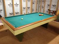 I have for sale a regulation size swimming pool table