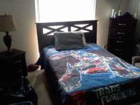 Moving and selling my son's bedroom set.