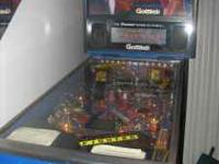street fighter pinball machine. works like new, in