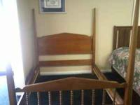 head board foot board and rails full size poster bed