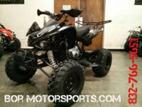 250 Rapidity ATV is a very powerful 250cc 4 stroke air