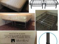 Full Size Smart Base Platform Metal Bed Frame/Mattress
