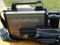 Olympus VX402 Full Size VHS Video Camcorder Movie