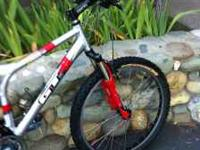 For sale is a Full Suspension Large Mens Mountain Bike.