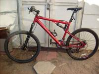 "Full Suspension Jamis Dakar Sport, 27 speed, 19"" Frame,"