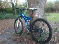 I have a shimano 18 speed mountain bike, full