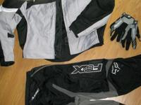 I'm selling a full body set of riding gear indevigually