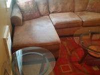 Mint condition CALL  includes L shaped couch, chair,