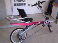 i have a 2001 BIKE-E recumbent bike full suspention in