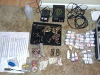 I have a full tattoo kit with new needles for sale. For
