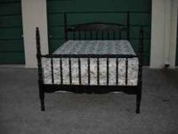 I HAVE A BLACK FULL SIZE BEDROOM SET WITH MATTRESS/BOX