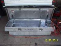 I HAVE 2 FULLSIZE TRUCK TOOLBOXES DIAMOND PLATED FOR