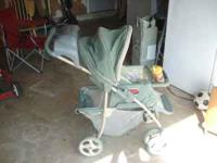 Full size stroller in good condition.  text only
