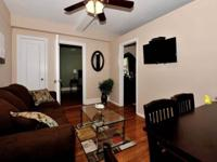 Fully furnished one bedroom Apartment New hdwd