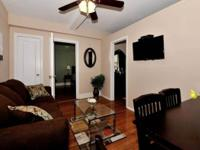 Fully furnished one bedroom Apartment.New hdwd