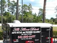 FULLY LOADED PRESSURE WASH & AUTO DETAILING TRAILER FOR