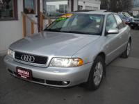AWD for LESS! This is a 2001 Audi A-4 5speed 4cyl 1.8T
