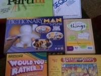 Selling lots of fun games for adults and kids Partini