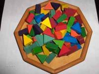 $3.00 Wooden...can you fit the pieces in the right