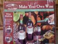 Fun Make Your Own Wine Kit by Lakeview Valley Farms for
