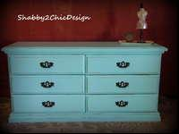 This dresser is in great condition. It is solid wood