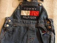 Super cute handcrafted Blue jean tote made out of Tommy