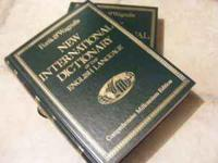 Funk & Wagnalls New International Dictionary of the