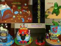 I offer amazing custom cakes at reasonable prices and
