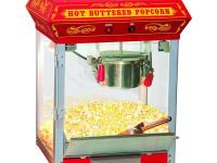 These beautiful classic style popcorn machines bring