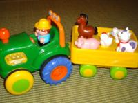 By I-Play. features colorful tractor & trailer with