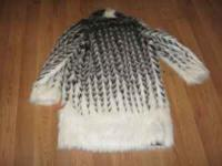 Fur coat , very warm and like new condition, only used